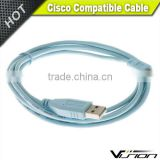 6FT CAB-Console-USB Cisco Blue USB Console Cable