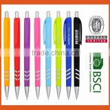 New promotional Logo ballpoint pen with rubbered barrel,Vape pen cheap promotional items