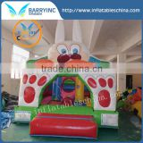 Small kids inflatable bouncer , baby rabit cartoon bouncer for sale