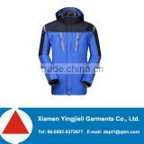 Mens 3 in 1 parka jacket wholesale nylon parka jackets with fleece liner, jacket men winter