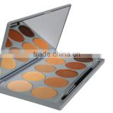skin bleaching cream Hot sell 10 colors concealer blush cheap makeup palette