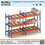 China Supplier Direct Supply Carton Gravity Flow Storage Floating Shelf With Drawers