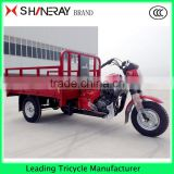 Three wheel cargo carrier motorized vehicle tricycle OEM from 150cc-300cc