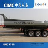 CIMC Light Tare Weight U- shape 3 Axles Rear Dump Trailer Truck Semi Trailer Semi-trailer dump trucks for sale