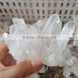 Wholesale Natural Rock Clear Crystal Clusters Small Quartz Clusters for Sale