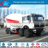 North Benz Concrete Mixer Truck 8X4 Mixer Yard Truck 31ton 12 wheels Beiben Yard Concrete Mixer