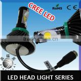 Super bright canbus high lumen SMD led patent cooling system design cree led auto head lamp h4 hi/lo h7 h8 h9 h10 h11 9005