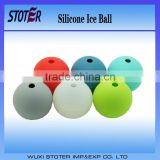 2016 new design silicone ice ball Silicone Whiskey Ice Ball Mold Cheap Silicone Ice Ball