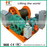 High quality Slow Speed Electric Winch For Pulling Ship