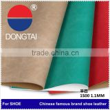 High quality Synthetic pu leather for shoe making