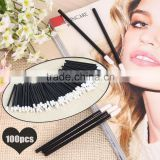 100 x Disposable Lip brush Gloss Wands Applicator Perfect Best Make Up Tool