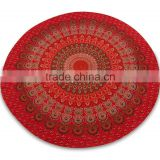 Round mandala tapestry /table cloth wall hanging /beach throw /yoga mat round table runner beach spread