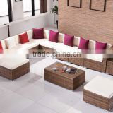 Outdoor rattan sofa set outdoor sofa rattan sectional sofa set in garden furniture