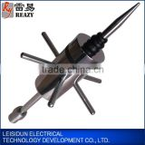 Ion discharge lightning rod thunder arrester