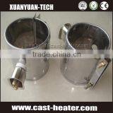 Plug type electrical mica band heaters