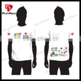 Wholesale Cheap Sublimation Printing Custom Design White Dirt Bike T Shirts Mountain Bike