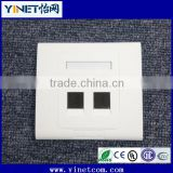RJ45 Keystone Jack Faceplates suit for CAT5e CAT6 connecting