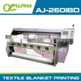 4 color large format sublimation digital machine cotton textile printing plotter printer