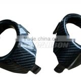 Carbon Front Fog Light Surrounds for Ford Focus RS Mk2