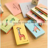 Cute Cat And Deer Series Notepad /Colorful Writing Scratch Pad For Promotion