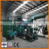 Made In China Used Motor Oil Distillation Equipment,Engine Oil Recycling Plant To SN300 Base Oil