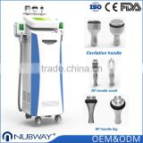 Body Shaping Hot Sell Comfortable Treatment 5 Treatment Handles Freeze Fat Beauty Machine Cryolipolysis Machine Weight Loss