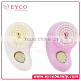 Newest Reduce pore size rechargeable electric silicone facial washing cleansing brush beauty massager machine