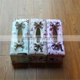 flower plastic tissue boxes plastic tissue box with flowers and english word printed colorful plastic tissue box