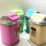 24L waste bin Beauty customized red home garbage bin