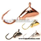 in stock Japan hook wholesale tungsten Tiny Ant ice fishing jigs