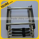 stainless steel telescoping drop yacht ladder/ stainless steel ladder/boat ladder,ISURE MARINE