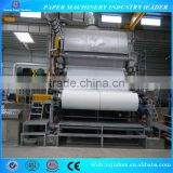 1880mm Tissue paper paper manufacturer direct supply /Toilet paper machine import from China