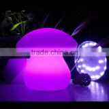 RGB Under Table battery operated led light round table lamp