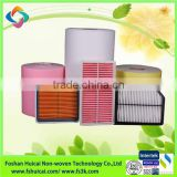 New replacement auto spare parts of car daewoo hepa air conditioning filters with PP material