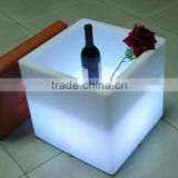 Remote control bar LED glow ice cube buckets with rechargeable battery and 16 emitting colors