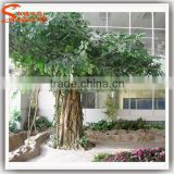 Artificial architectural model tree of ficus tree / artificial big trees artificial plants of leaves