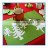 wholesale felt restaurant dining hot food table mat