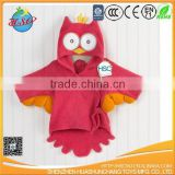 custom towel baby owl bathrobe infant bathrobe