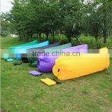 blue oxford portable air floating sofa /biao flower Outdoor living room ballon chair inflatable sofa/ air blow sofa chair