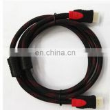 High speed double ended hdmi cable Support 4k*2K 1080p 3D Ethernet 1.4V