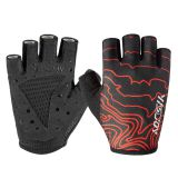 Cheap pro fingerless bicycle road cycling gloves OEM ODM half finger mountain bike riding gloves