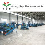 Sale scrap tire crumb rubber machinery