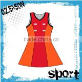 custom netball skirts sublimated netball dress netball uniforms                                                                                                         Supplier's Choice