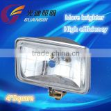 4 inch square china factory retail more bright Halogen Sealed Beam Headlight Headlamp for car