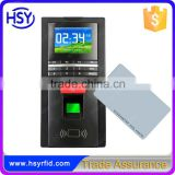 Fingerprint Recognition Door Access Time Attendance and RFID Card Access Control System
