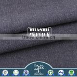 High quality with low price Wrinkle resistant airport use polyester viscose grey stripe fabric