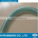 Flexible estainless high pressure PVC spiral steel wire hose                                                                                                         Supplier's Choice