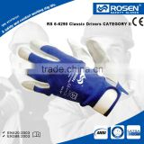 RS SAFETY Pig nappa leather palm Cheap work gloves