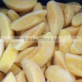 hot sale iqf fruit IQF frozen yellow peach