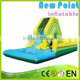 New Point inflatable water slides for summer,customize kids inflatable slide tunnel,inflatable water slides for kids